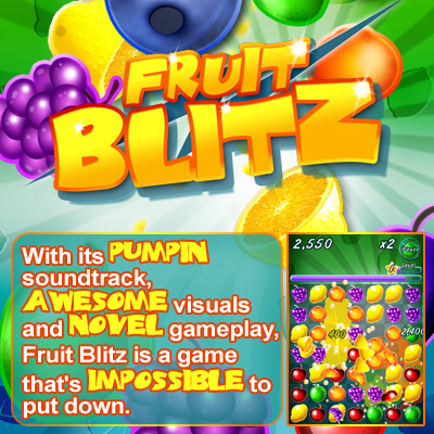 Fruit Blitz - game app for ipad, iphone, android, PC