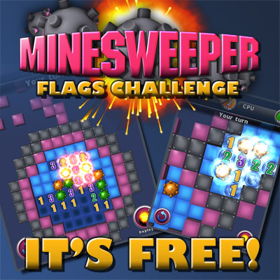 Minesweeper Flags Challenge - game app android